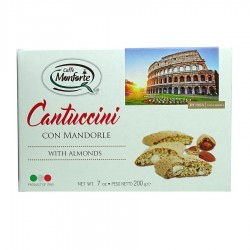 Monforte Cantuccini cepumi ar mandelēm 200g