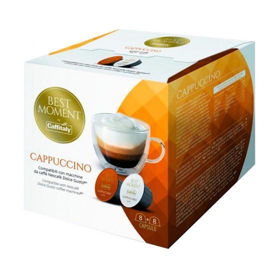 Caffitaly CUPPUCCINO kafijas kapsulas Dolce Gusto® 8+8 gab.