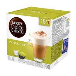 Caffitaly Cappuccino, saderīgas ar Dolce Gusto® aparātiem, 8+8 gab.