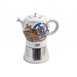 Kafijas kanna BELLA ITALIA 2 Carina ANCAP paredzēta 4 krūzītēm