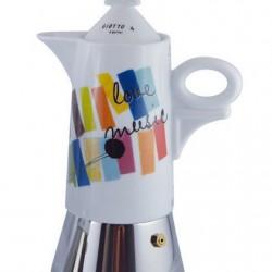 Kafijas kanna HAPPY LIFE Giotto A porter ANCAP paredzēta  4 krūzītēm