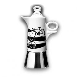 Kafijas kanna ITALIA IN BICI Giotto A porter ANCAP paredzēta  4 krūzītēm