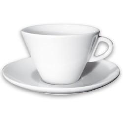 Kafijas krūze ar apakštasīti Caffelatte Favorita 270ml ANCAP
