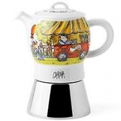 Kafijas kanna Espresso pagatavošanaiMERCATINI Carina ANCAP paredzēta 4 krūzītēm
