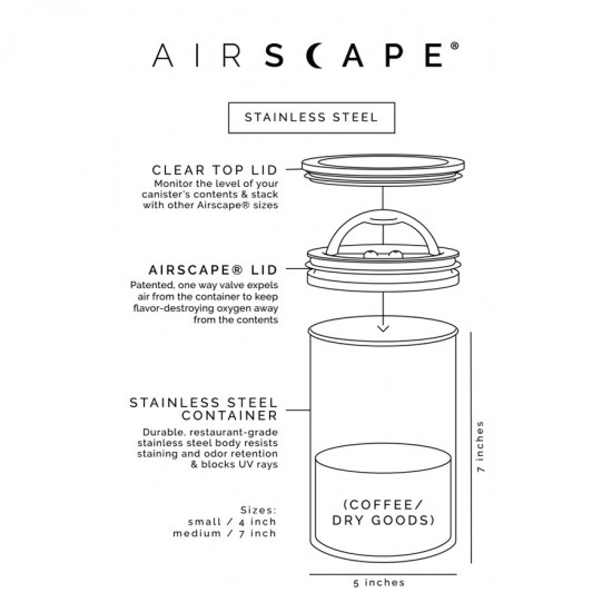 Airscape RED 850 ml